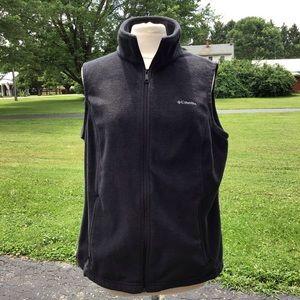 Columbia Full Zip Fleece Vest 1X